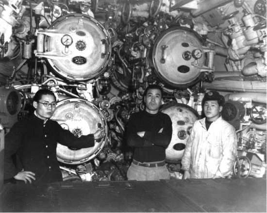 Torpedo Room of the I-58