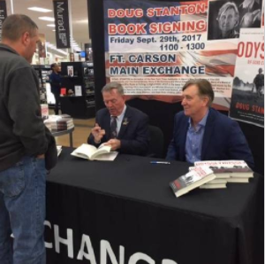 Local CO newspaper covers Doug's events with Stan Parker