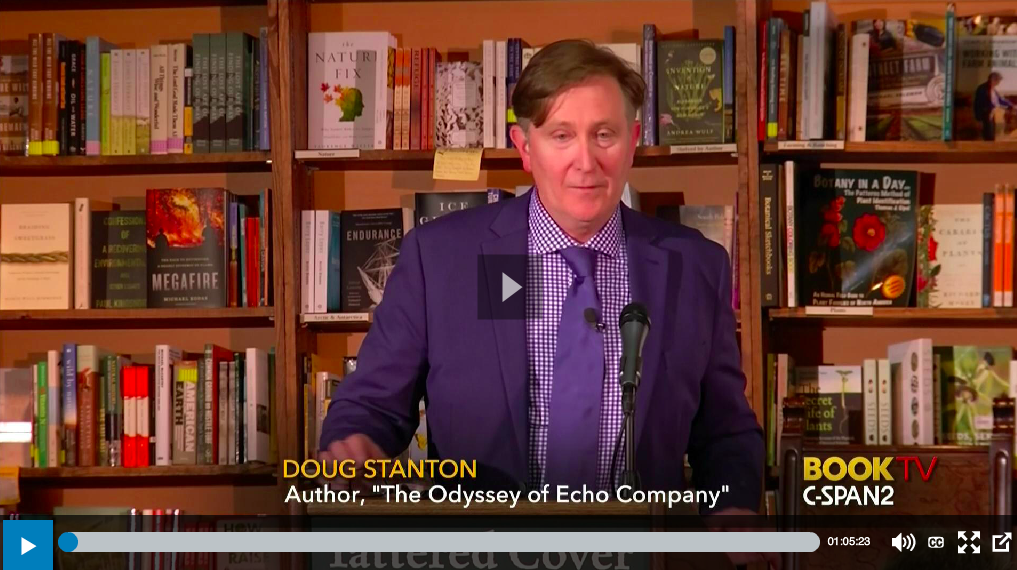 Doug's appearance at Tattered Covers on C-Span